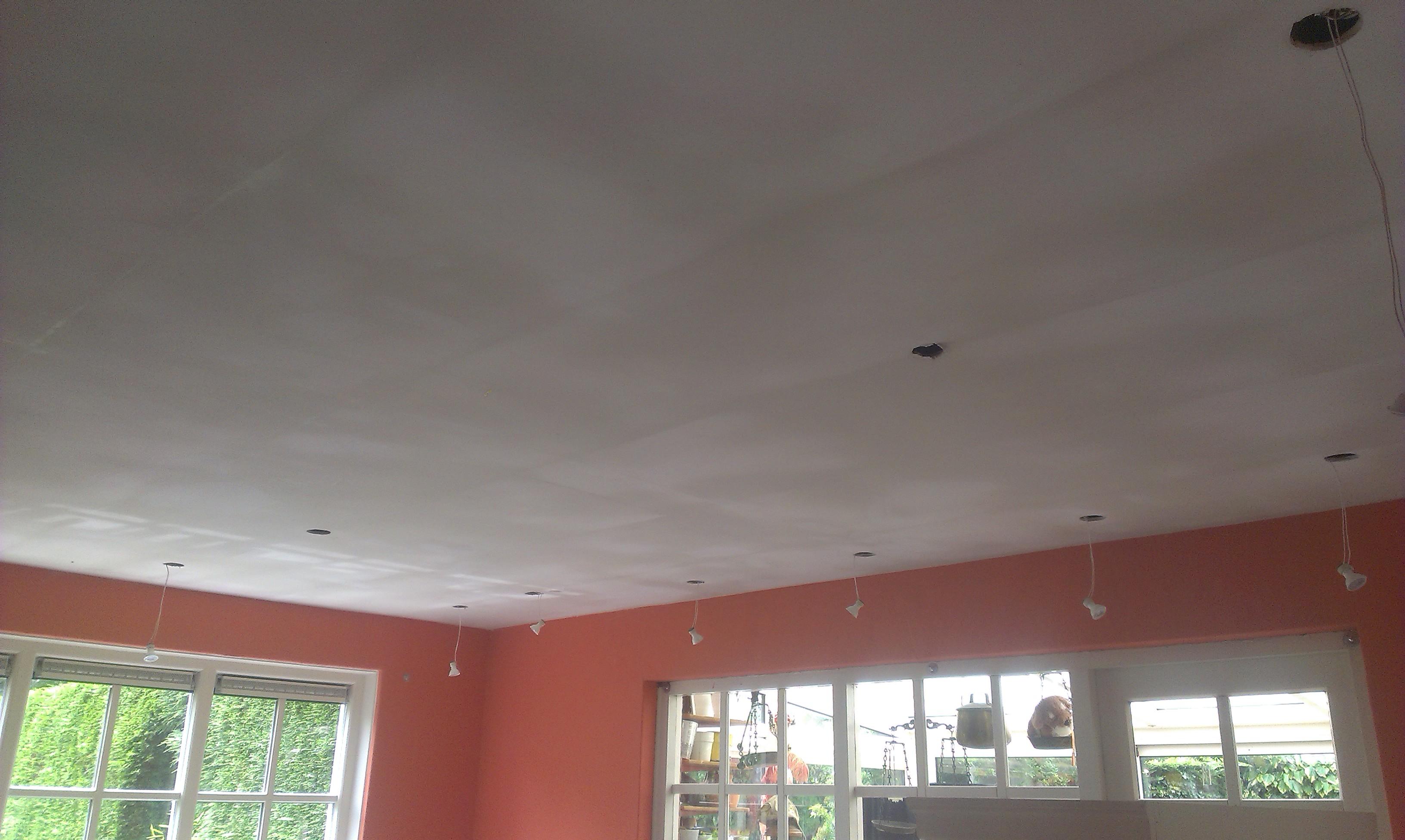 Verlaagd Plafond Plaatsen En Stucen Klusservicedirect